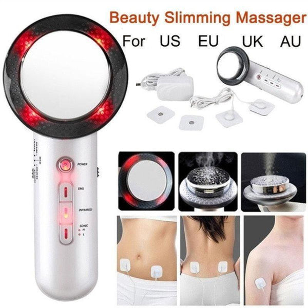 3 in1 Ultrasonic Infrared Lights Facial Body Slimming Beauty Machine Fat Removal