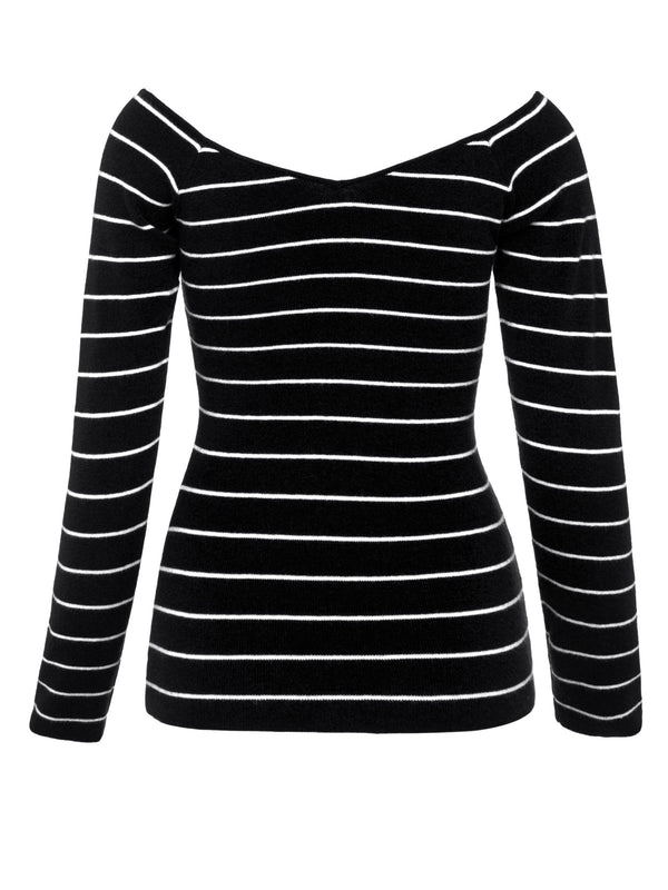Pull Femme Slim Manches Longues