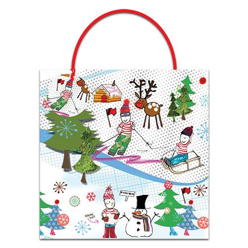 Christmas Boy Large Christmas Gift Bag