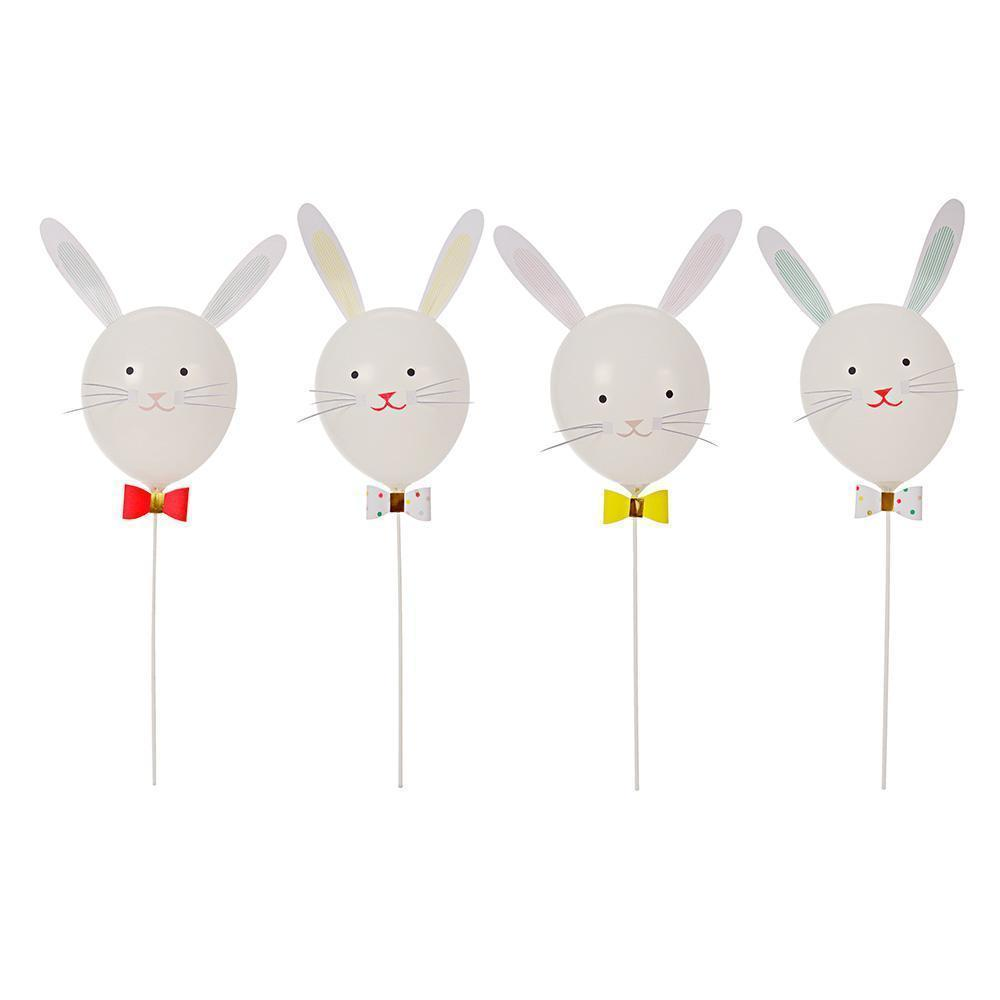 Easter Bunny Balloon Kit - Pack of 4