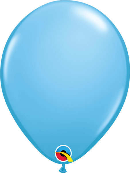 "Pale Blue 11"" Latex Balloons - Pack of 6"