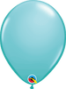"Caribbean Blue 11"" Qualatex Latex Balloons - Pack of 100"
