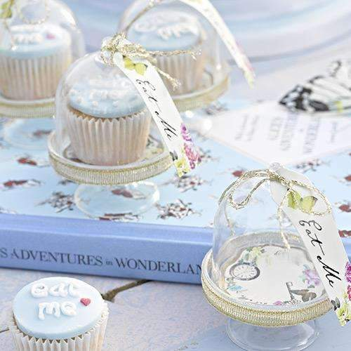 Alice in Wonderland Curious Cake Domes