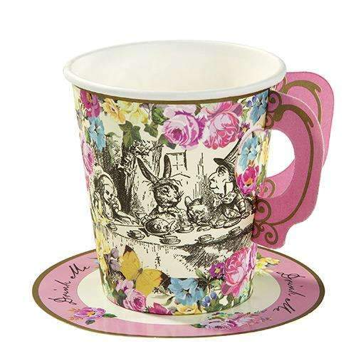 Alice in Wonderland Tea Party Cups