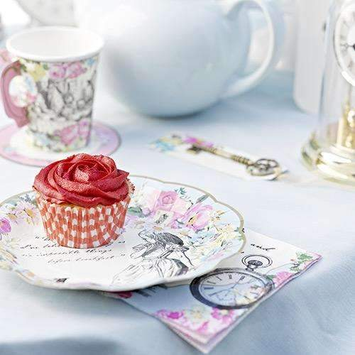 Alice in Wonderland Tea Party Plates