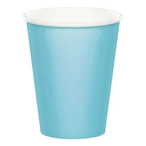 Baby Blue Paper Cups - Pack of 8