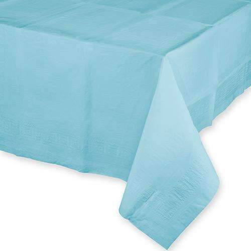 Baby Blue Paper Rectangular Tablecover