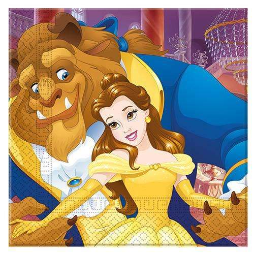 Beauty and the Beast Napkins - Pack of 20