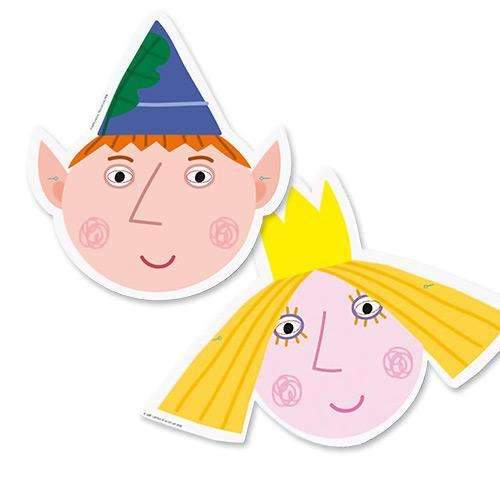 Ben and Holly Masks
