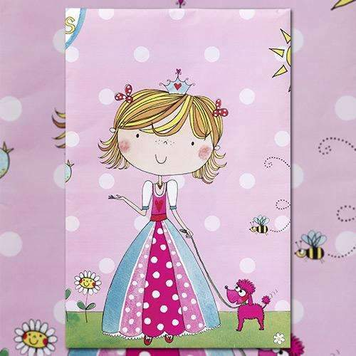Birthday Princess Party Tablecloth