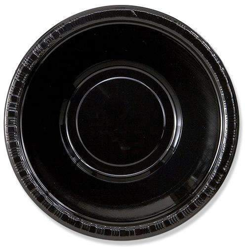 Black Plastic Bowl, 355ml