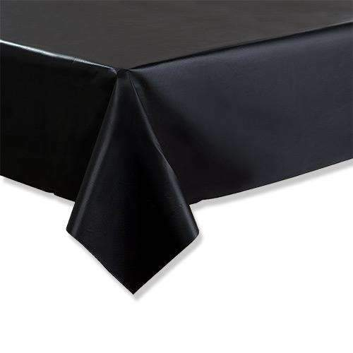 Black Tablecloth 1.37m x 2.74m
