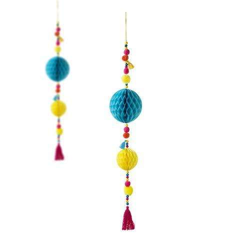 Boho Mix - Pom Pom Tassel Decoration