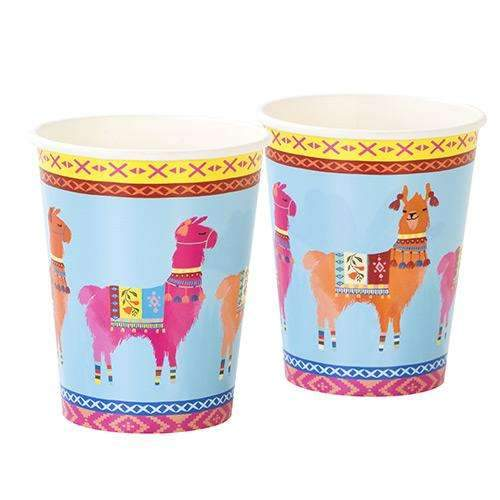 Boho Mix - Small Llama Cups - Pack of 8