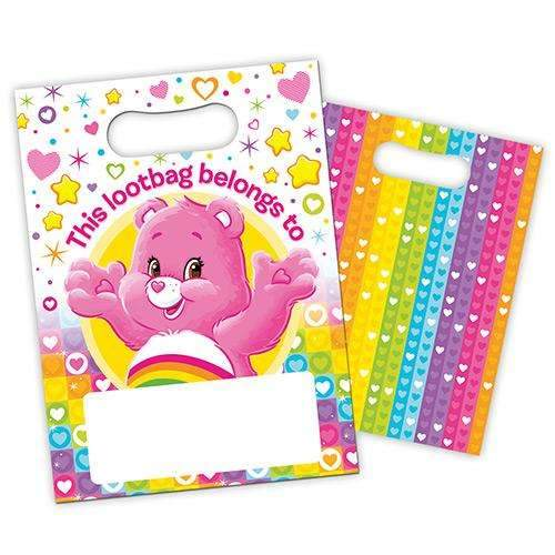 Care Bears Party Bags - Pack of 8
