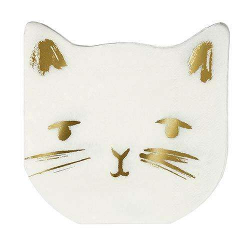 Cat Party Napkins - Pack of 16