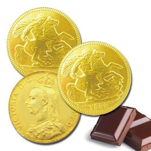 Chocolate Gold Sovereign 5.5cm
