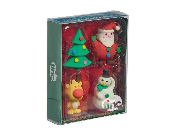 Christmas Scented Eraser Collection - Multi