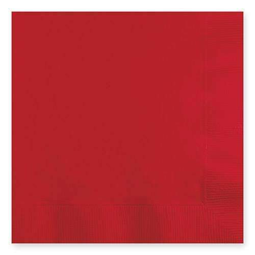 Classic Red Paper Napkins