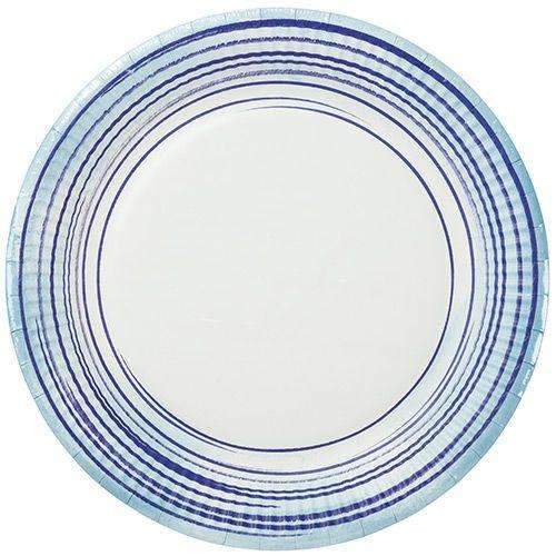 Coastal Paper Plates - Pack of 12
