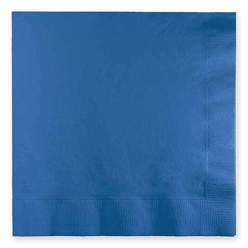 Cobalt Blue Luncheon Napkins - Pack of 20