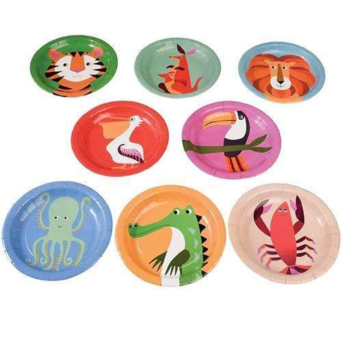 Colourful Creatures Animal Plates