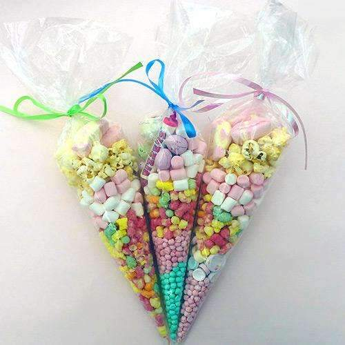 Cone Shaped Sweet Bags- Pack of 20