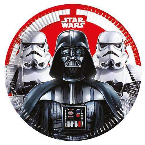 Darth Vader and Stormtrooper Plates