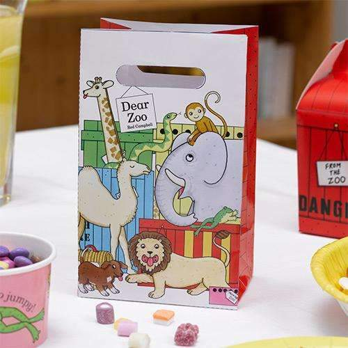Dear Zoo Paper Party Bags - Pack of 5