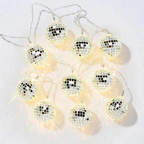 Disco Glitter Ball Party Lights