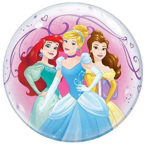 Disney Princess Bubble Balloon 22""