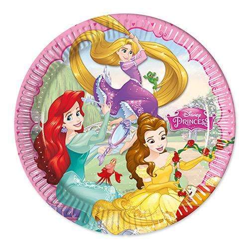Disney Princess Party Plates - Pack of 8
