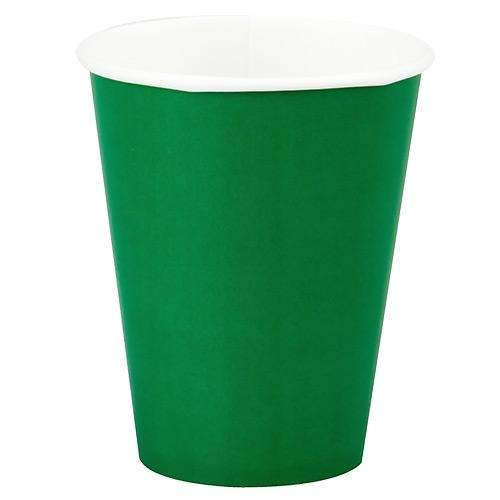 Fern Green Cups  - Pack of 8