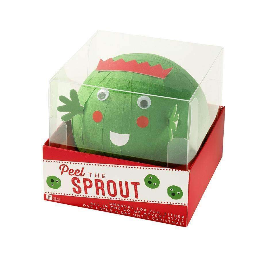 Festive Peel the Sprout - Party Game