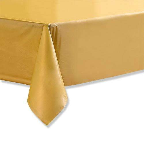 Gold Paper Tablecloth 1.4m x 2.8m