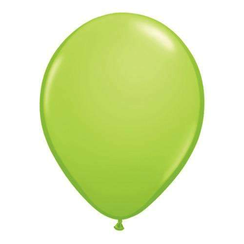 "Lime Green 11"" Latex Balloons - Pack of 6"