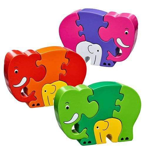 Mother and Baby Elephant Jigsaw