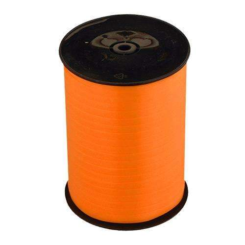 Orange Curling Ribbon 500m