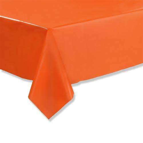 Orange Tablecloth 1.37m x 2.74m