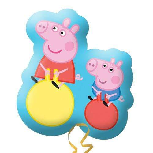 Peppa and George Supershape Foil Balloon 56cm