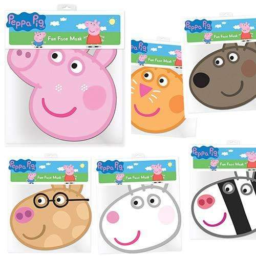 Peppa Pig And Friends Mask Pack Of 6