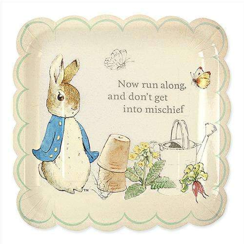 Peter Rabbit and Friends Large Plates - Pack of 12