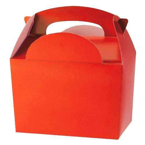 Red Party Meal Box