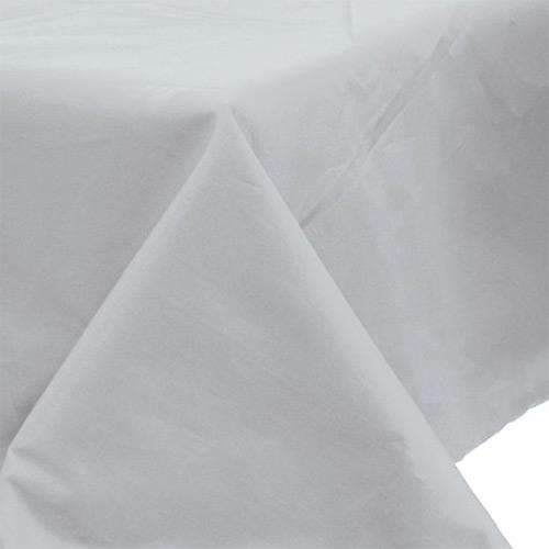 Silver Paper Tablecloth 1.4m x 2.8m
