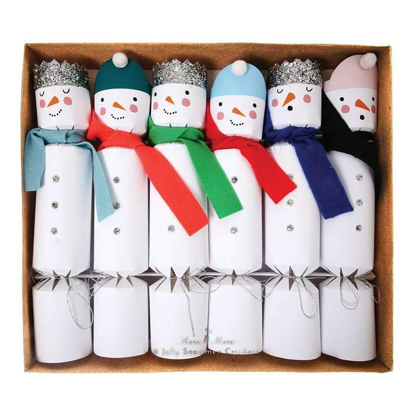 Snowman Crackers - Large