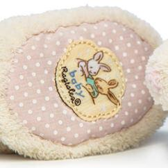 Alfie Bunny Baby Booties - Baby Boy - Birth to 6 months