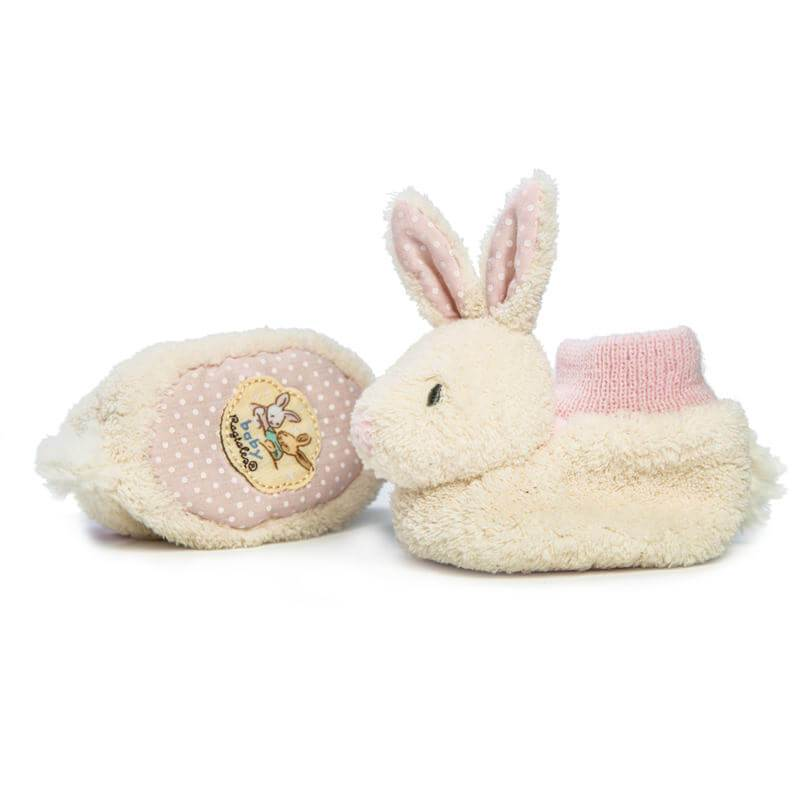 Fifi Bunny Baby Booties - Baby Girl - Birth to 6 months - Baby Shower Gift