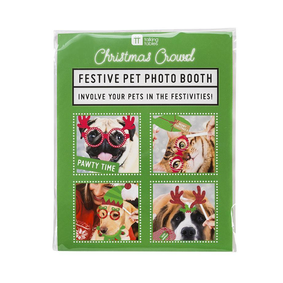 Christmas Entertainment Pet Photo Booth Props - V1