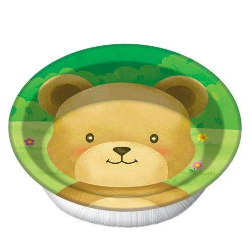 Teddy Bears' Picnic Bowls - Pack of 8