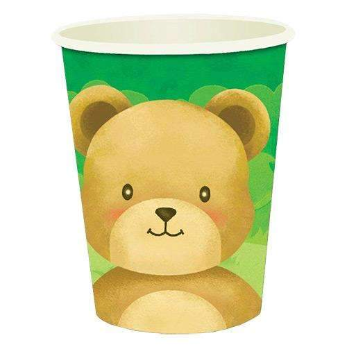 Teddy Bears' Picnic Cups - Pack of 8